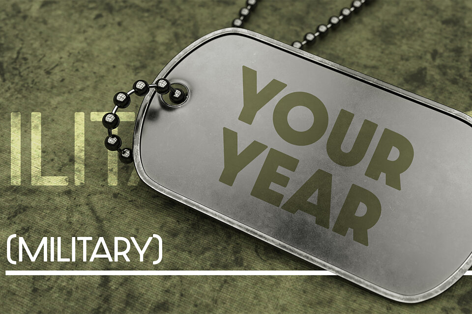 your year military